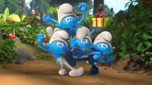 """""""Diaper Daddy"""" The Smurfs Episode Nickelodeon"""