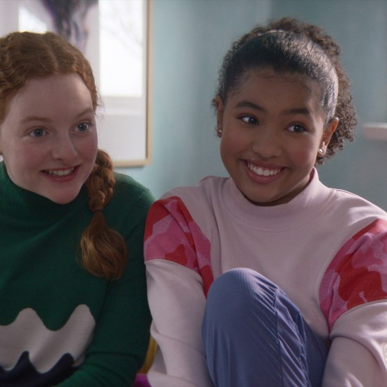 Vivian Watson and Anais Lee in Netflix's The Baby-Sitters Club