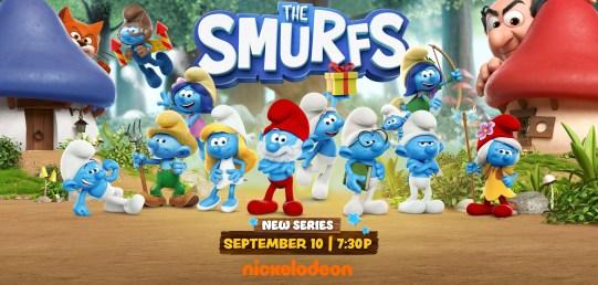 The Smurfs Nickelodeon Series Premiering On September 10th