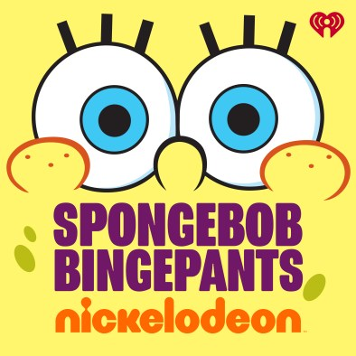 SpongeBob BingePants Podcast Logo