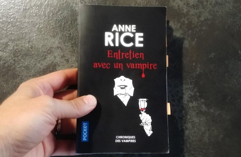 Entretien avec un vampire (Pocket, 510 pages)