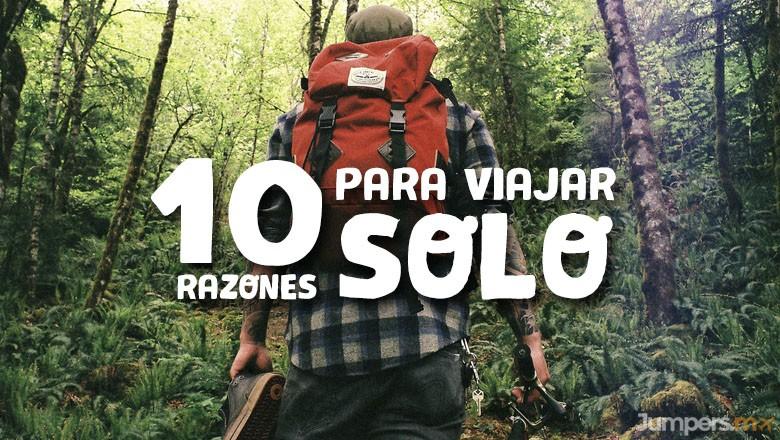 10 razones para viajar solo