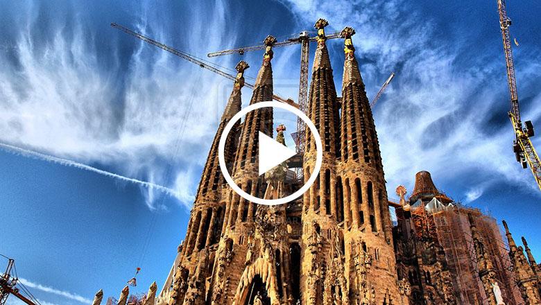 Video muestra cómo se verá la Sagrada Familia terminada