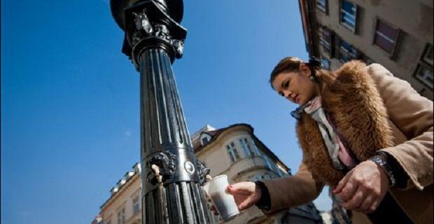 Eslovenia tiene la primera fuente pública de cerveza