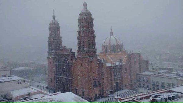 8 Fotos Increíbles De La Nevada en Jalisco