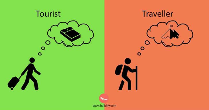 10 Diferencias Entre Viajeros y Turistas