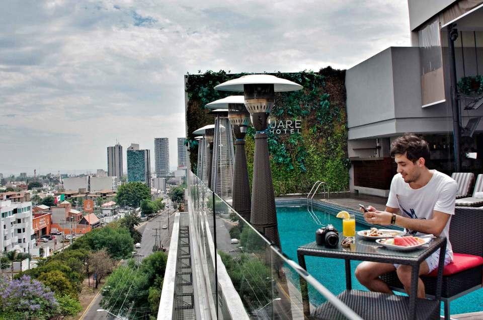 #OneDayInMéxico : Square Small Luxury Hotel Guadalajara
