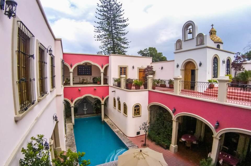 De visita en Gran Casa Sayula Hotel Galería & Spa