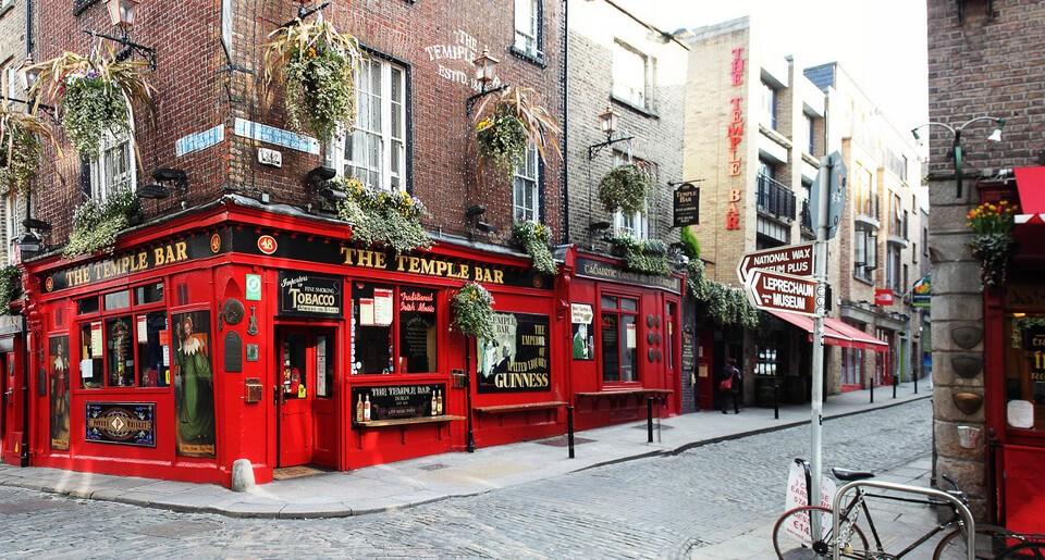 Los 10 mejores bares en Dublín