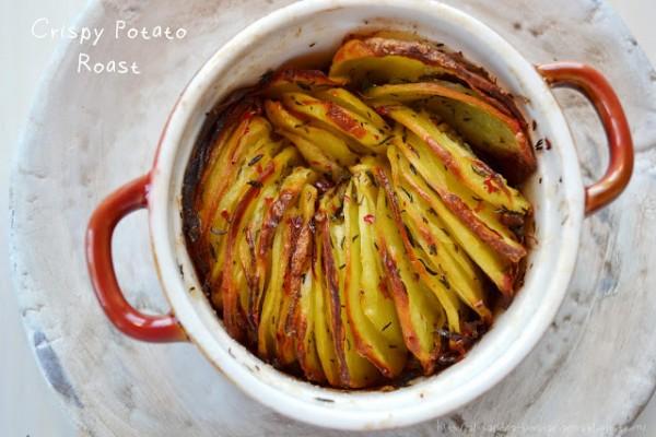 Cartofi copți sau prăjiți / Crispy Potato Roast