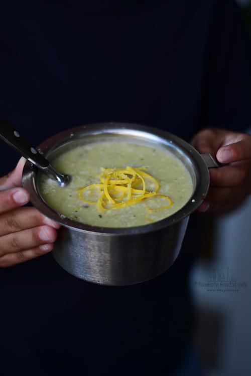 courgette cream soup