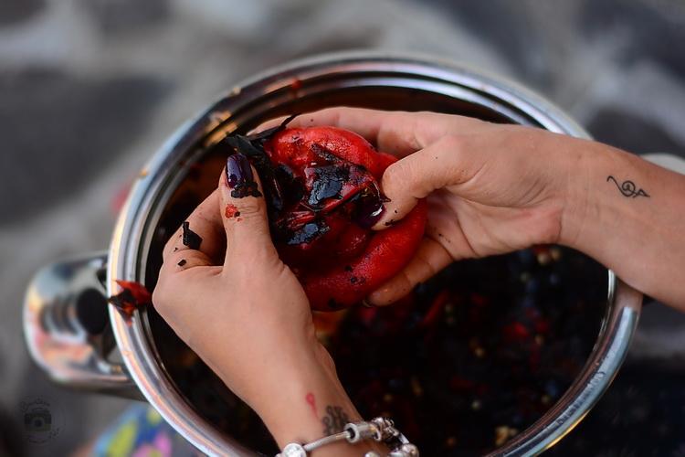 Zacusca tradițională de vinete