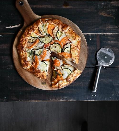 Ratatouille Galette / Tartă rustică cu legume