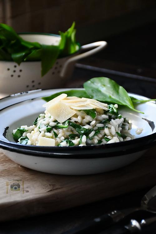 Risotto cu leurdă - Bucătăria familiei mele-www.alexjuncu.ro