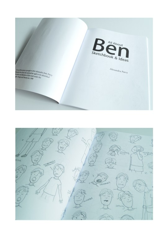 other pages of ben skietch