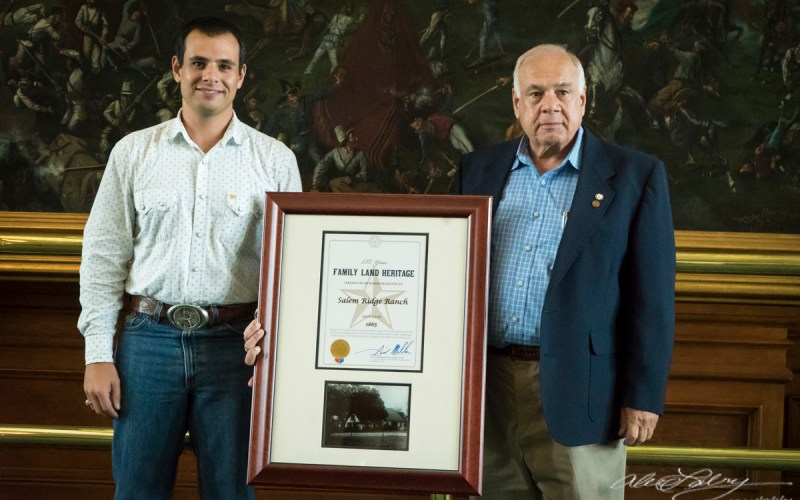 2017 TX Ag Family Land Heritage