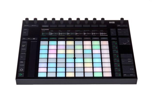 Ableton Push 2 controller MIDI