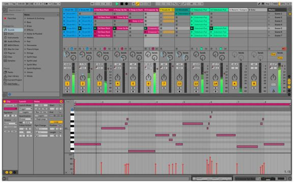 Ableton Live 10 Sequencer