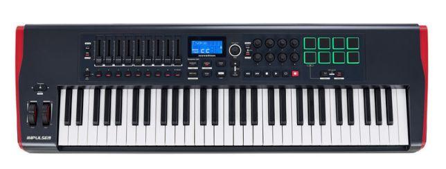 Controller MIDI novation impulse 61
