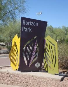 Horizon Park Sign