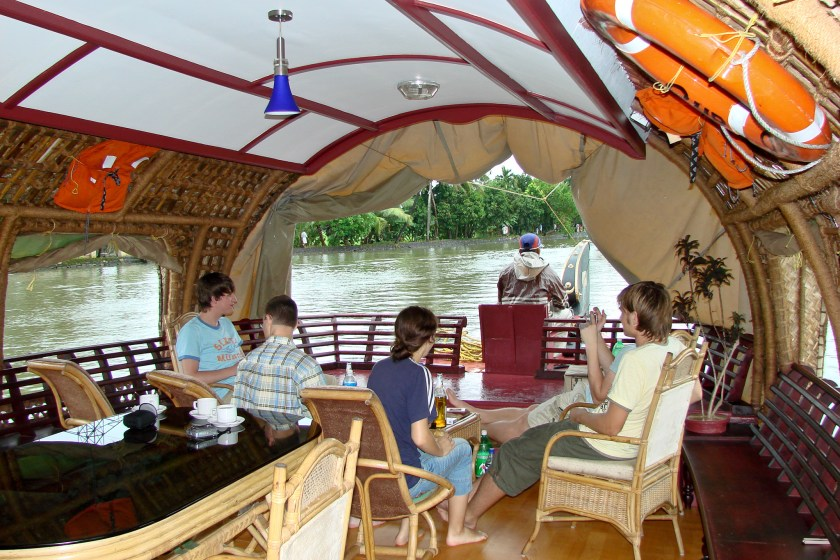 Hausboot auf den Kerala Backwaters
