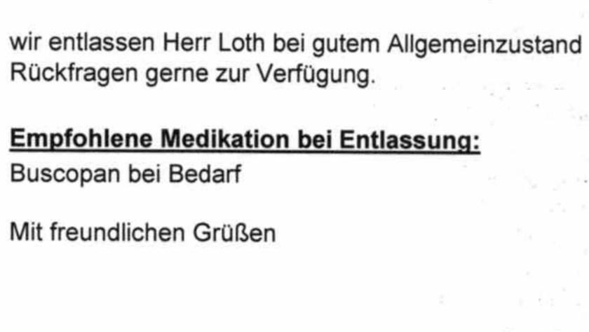 Fehldiagnose und vorschnelle Entlassung aus dem Hochwaldkrankenhaus Bad Nauheim