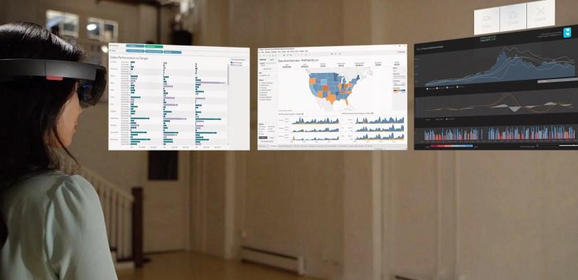Immersive und interaktive Analyse von Finanzdaten mit Argumented Reality