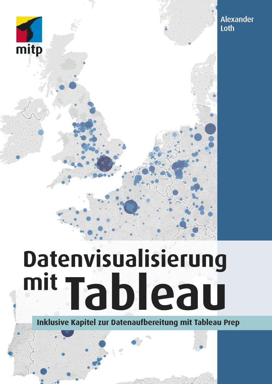 Buch-Cover von Datenvisualisierung mit Tableau