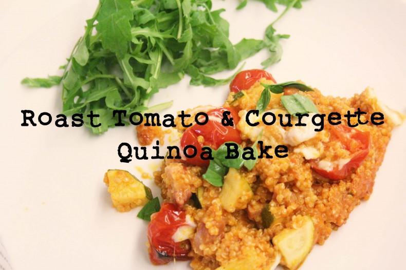 Roast Tomato Courgette Quinoa Bake ©www.alexloves.com