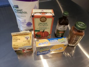 Ingredients - KETO Pumpkin Fat Bomb Fluff.jpg