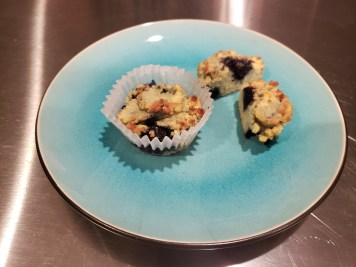 Plated- Coconut Flour Blueberry Muffins