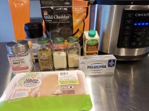 Ingredients - Creamy Crack Chicken