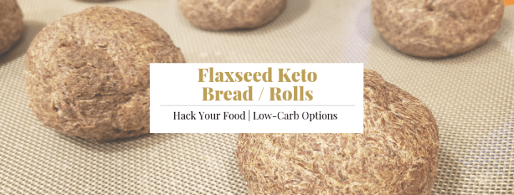 Flaxseed Keto Bread Rolls