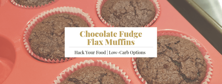 Chocolate Fudge Flax Muffins