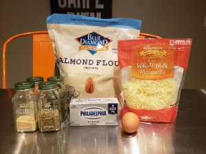 Ingredients - Almond Flour Fathead Pizza