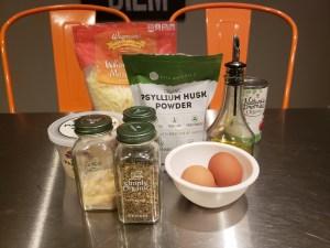 Ingredients - Keto 5 Minute Pizza