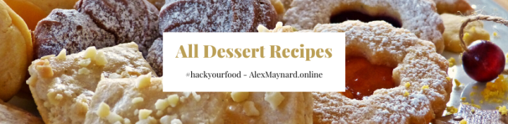 Dessert Banner - Keto Dessert Recipes
