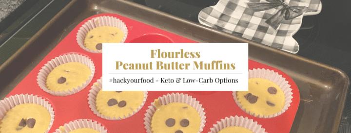 Flourless Keto Peanut Butter Muffins