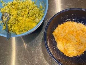 Keto Squash Zucchini Fritters 5