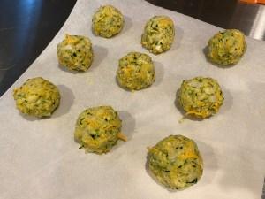 Keto Squash Zucchini Fritters 8