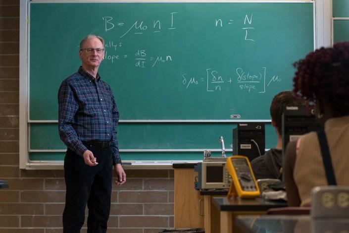 A professor at Thompson Rivers University.
