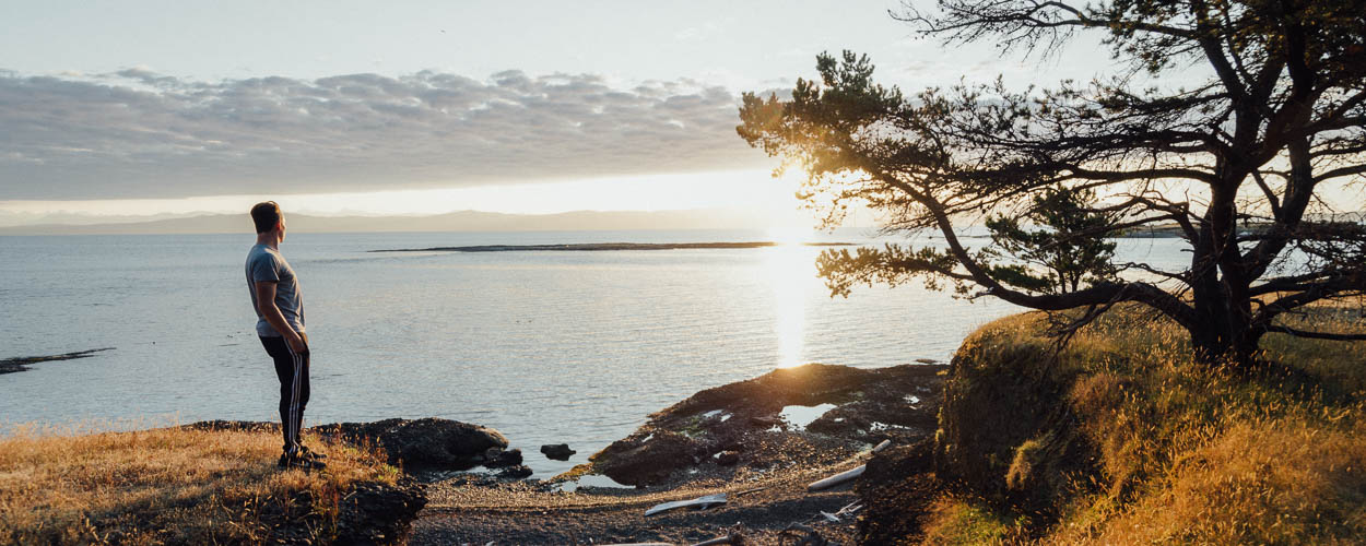 Sunrise on Hornby Island