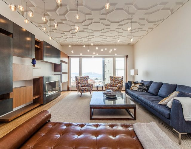 condo ceiling decor