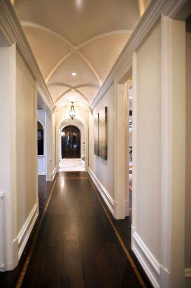 vault ceilings for hallway