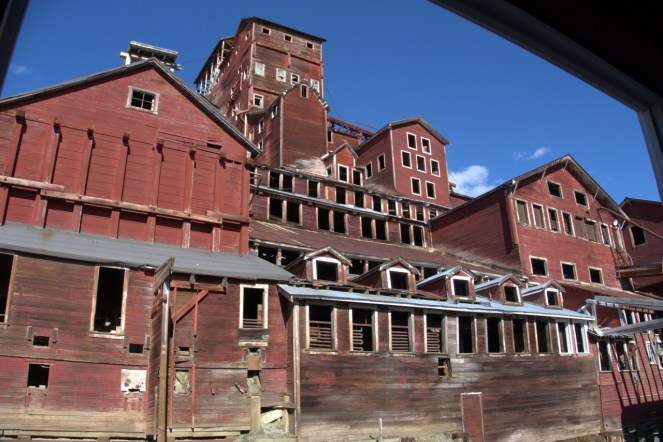 Processing mill. At 14 stories it is the tallest wooden structure in America.