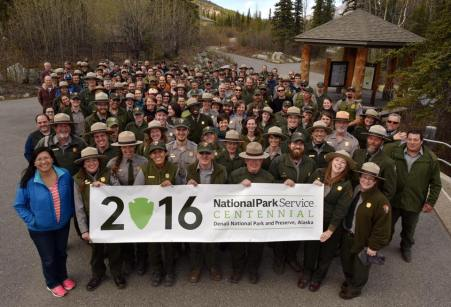 2016 Denali Staff. Can you find me? :p