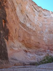 Big walls in Kanab Canyon