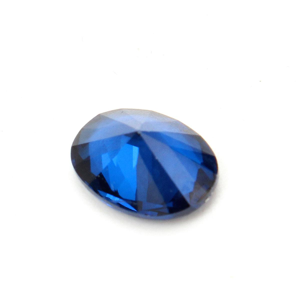 8x6mm Oval Dark Blue Gemstone DIY Design Lustrous Jewelry