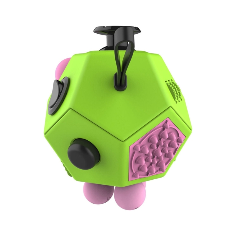 12 Sides Fidget Cube Generation 2 Decompression Toy Desk Magic Dice Funny Relieves Anxiety And