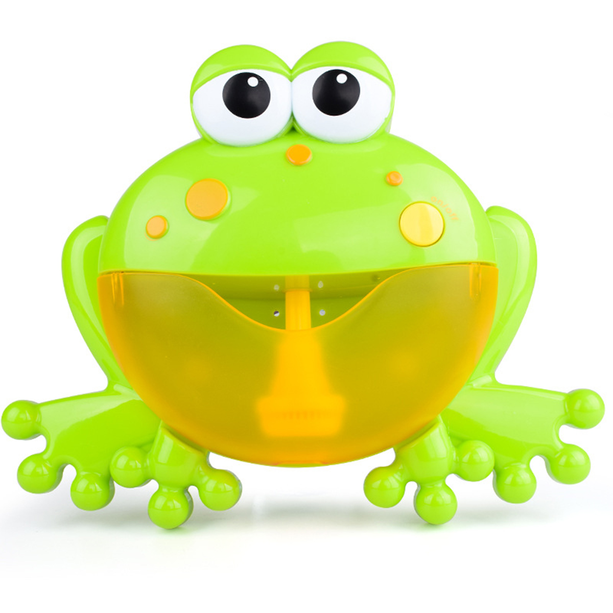 Big Frog Automatic Bubble Blower Music Bubble Maker Baby